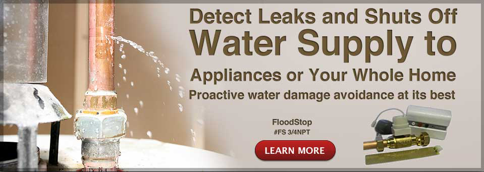 Detects Leaks and Shuts off Water Supply to Appliances or Your Whole Home.