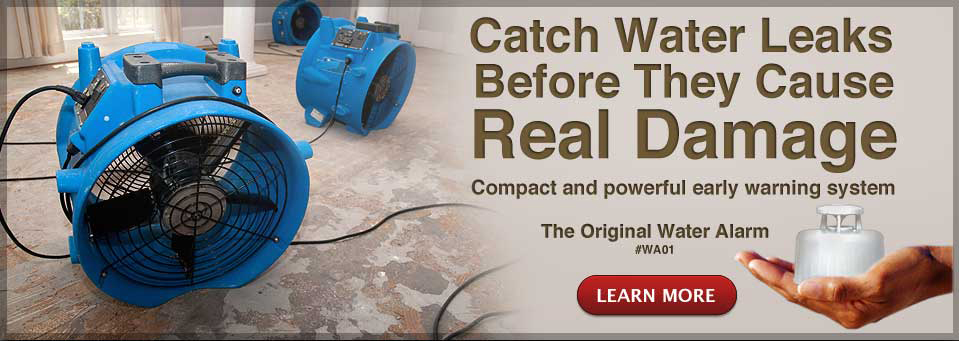 Catch Water Leaks Before They Cause Real Damage.